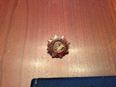 Vintage Rockford Lifeman Old Guard Pin