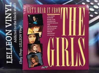 Let's Hear It From The Girls Double LP Album Vinyl SMR8614 Pop Rock 80's](Girls From The 80s)