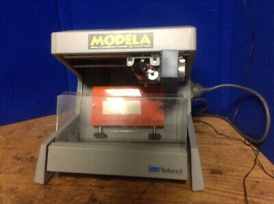 Roland Modela 3d Plotter Mdx-3