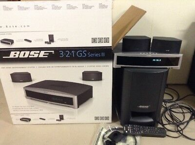 NEW 321 GS Series III DVD Home Entertainment System - Graphite