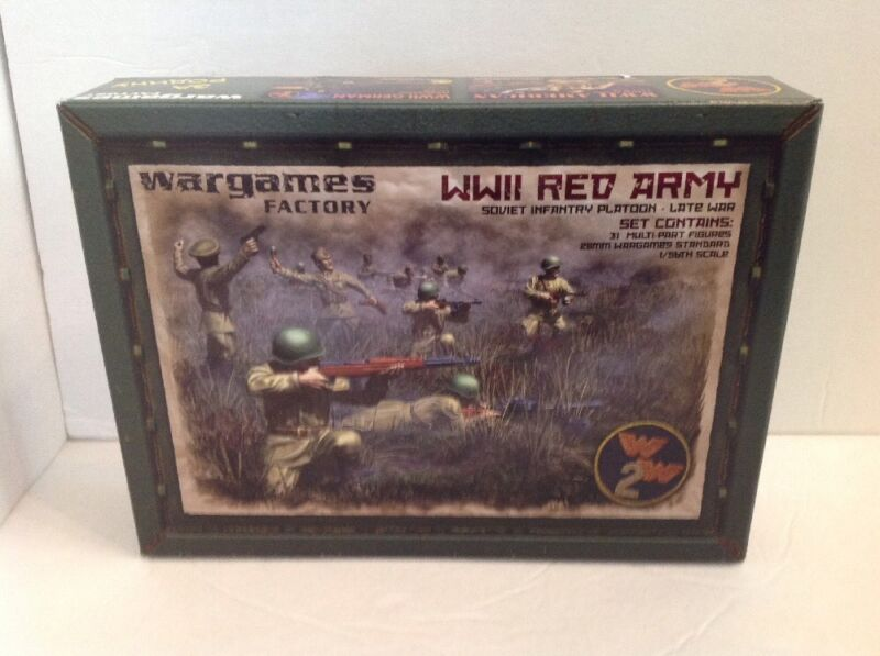 PHoT! SOVIET INFANTRY PLATOON LATE WAR Wargames Factory Now Warlords Bolt Action