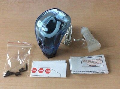 Light-Up Blue Neon Gear Shifter Knob by City Lites - Hot Rods, Racecars & Rats! - Light Up Gear