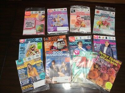 Lot Of 12 NEW Home Decorating Magazines Better homes and gardens celebrity