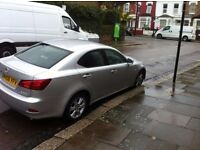 2006 DIESEL LEXUS IS 220D , 10 MONTH MOT, DRIVES VERY WELL, RELIABLE, AIR CONDITION, CRUISE CON, ETC