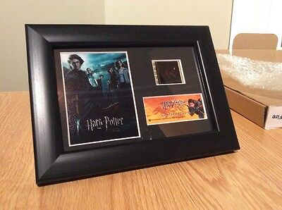 Harry Potter and the Goblet of Fire Mounted Framed Mini Film Cell