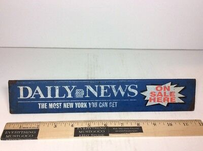 DAILY NEWS Advertising On Sale here The Most New York Can Get Free VUE TV Guide