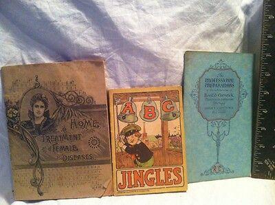Vintage Original 1920 Hartford Balsam ABC Jingles And Other Pamphlets Item #297