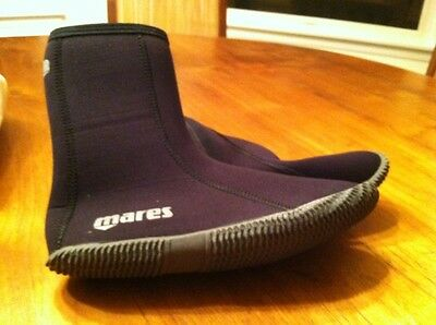EUC Mares Classic Dive Boot size 4
