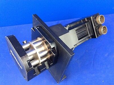 Pacific Scientific R32genc-r2-ns-nv-00 Servo Motor W Flexicon Peristaltic Pump