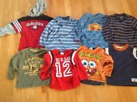 Boys long sleeve t-dhirts (8)