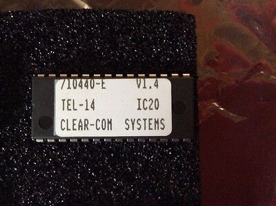 Clear-com Systems Ic Chips 710440-e V1.4 Tel-14 Ic20