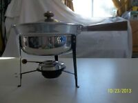 Covered Buffet Food Warmer Chafing Dish