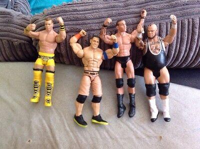 WWE figures Bundle WWF Cena Randy Orton Brodus Clay Tyson Kidd NXT