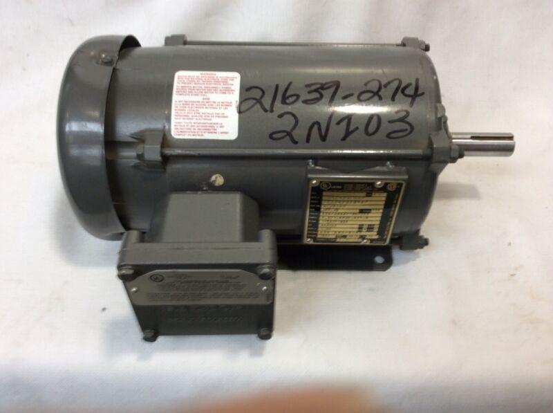 NEW BALDOR 1/.75 HP HAZARDOUS LOCATION ELECTRIC MOTOR BX929877