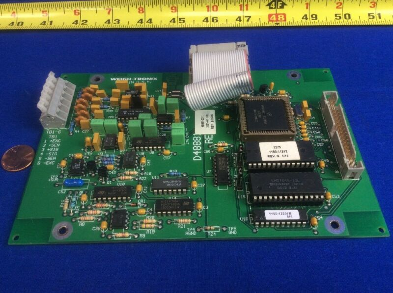WEIGH-TRONIX 48881-0011 PCB ASSEMBLY MOTHERBOARD FOR 3275 SCALE