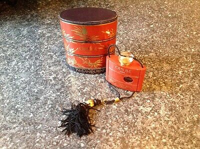 Yves Saint Laurent opium perfume vintage 80's 7.5 ml