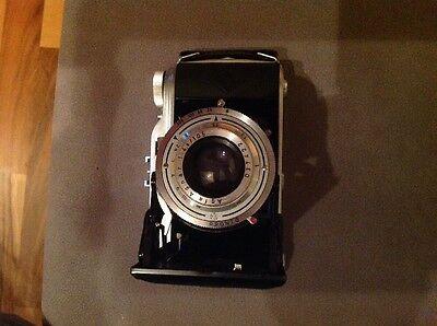 Agfa Record I Klappkamera Balgenkamera Kamera mit Agnar 1:4.5 105mm Optik