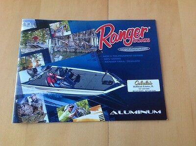 2014 Ranger Aluminum Tournament Bass Fishing Boat Catalog Brochure Book Angler