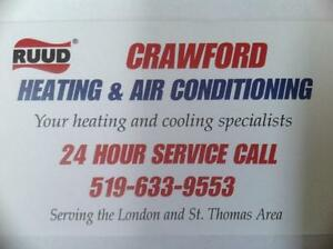 central air cond  from $1950 furnaces from $1850 St  Thomas London Ontario image 2