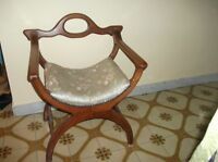 ANTIQUE EMPIRE CHAIR