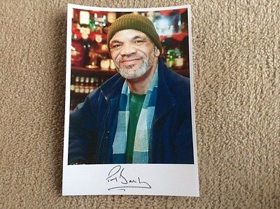 PAUL BARBER AS DENZIL TULSER ONLY FOOLS AND HORSES PRE PRINT SIGNED CARD
