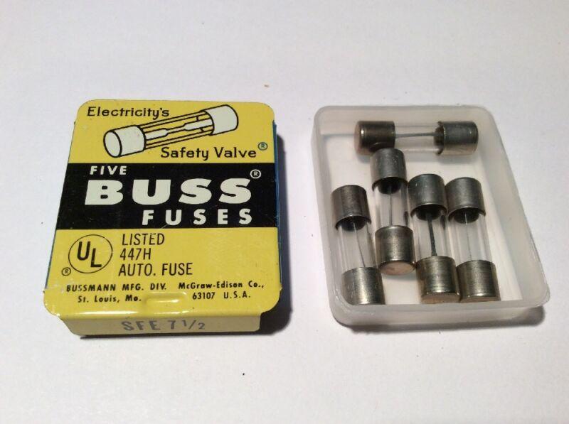 BUSS SFE 7-1/2 Fuses