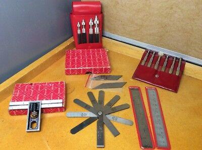 Starrett Double Square 13b 4 S166 Pin Visesjewelers Screw Drivers 2 Rulers