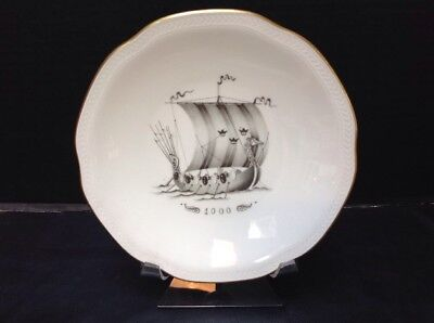 RORSTRAND SWEDEN NAUTICAL SHIP PLATE SWEDEN 1700 SWEDISH AMERICAN LINE