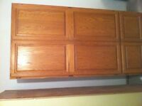 SOLID MAPLE PANTRY/BOOKCASE