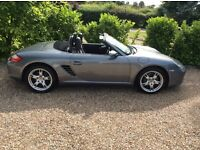 PORSCHE BOXSTER 987 2 OWNERS FSH 2 KEYS (grey) 2006