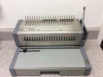 Tamerica Tahsin Manual Paper Punch Book Binder Comb Binding Machine
