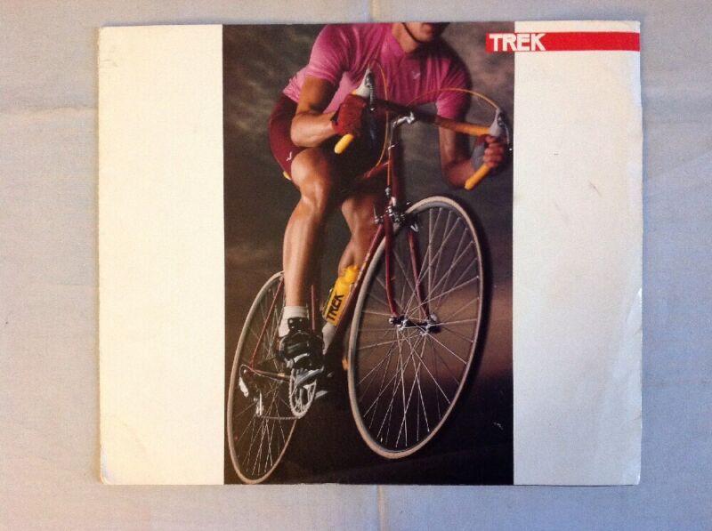 Vintage Original 1985 Trek Bicycle Brochure