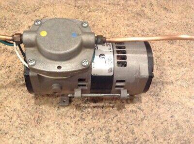 Thomas Compressorvacuum Pump Mod107ca 14-004. 115v 1.7a