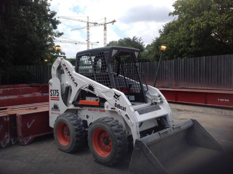 Bobcats Skid Steer Hire And Rubble Removal Randburg Gumtree