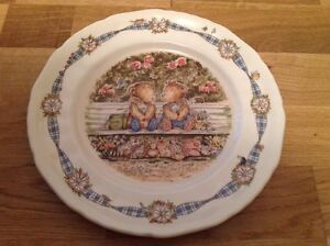 Collectors Plate by Wedgwood Rambling Ted ( Michael Abrams )
