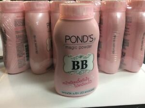 Pond's BB Pink Magic Powder UV Protection Oil & Blemish Control Face & Body 50g.