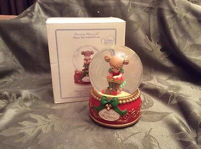 """Precious Moments """"Bling In The Holidays Waterball 131103"""