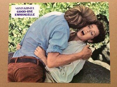 Goodbye Emmanuelle (Kinoaushangfoto '77) - Sylvia Kristel / sexy