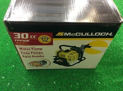 Brand New In Box 2 Cycle Water Pump McCULLOCH
