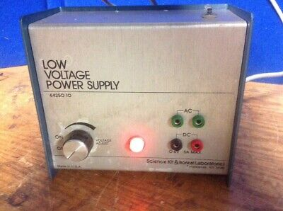 Science Kit Boreal Laboratories Low Voltage Power Supply 64250-10