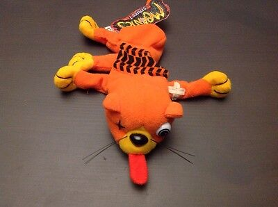 1997 Meanies Series 1 Splat the Road Kill Kat Cat Bean Bag Animal NWT