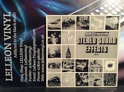 The Best Of BBC TV & Radio Stereo Sound Effects No.9 LP Album RED164S (Best Radio Sound Effects)