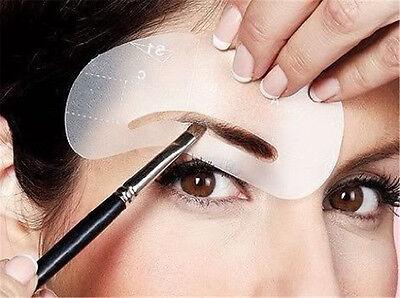 Form Augenbrauen-schablone (24x Augenbrauen Schablone Augenbraue nachmalen Pflege Gestaltung Vorlage formen)