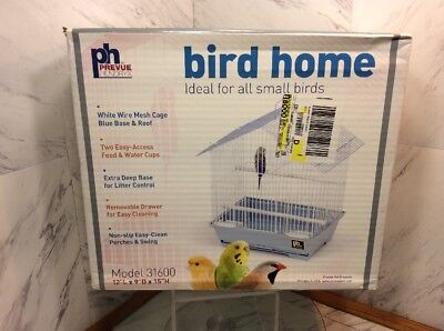 Prevue Hendryx House Style Parakeet Cage PP-31600 Bird Cages NEW