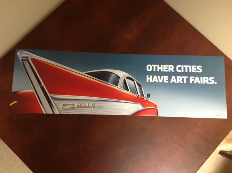 NEW 1957 Bel Air Woodward Dream Cruise poster 2007