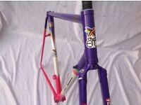 EDDY MERCKX - CORSA - FRAME & FORKS 1990s - 55cm C-T-C COLUMBUS SL