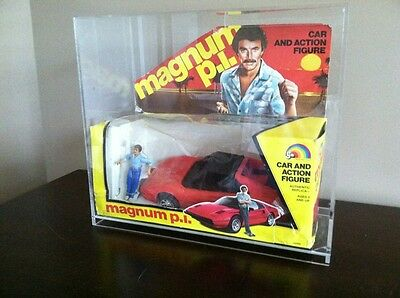 Magnum p.i. Toy LJN Ferrari Car Tom Selleck Action Figure Magnum PI Box Set Rare