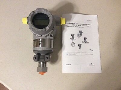 Rosemount Pressure Transmitter Model 3051TG2F2B21KQ4Q8M5P2