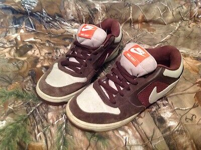 731d293f8c02 Nike Skeet Lace Up Brown And tan Athletic Casual Sneakers Shoes Mens 7.5
