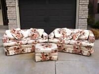 3 pice sofa set